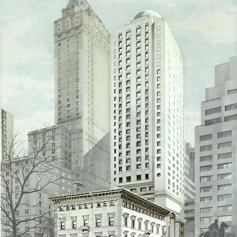 Portman Hotel Metropolitan Club Site, 1985