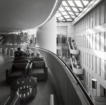 Circular Lighted Table, 1975