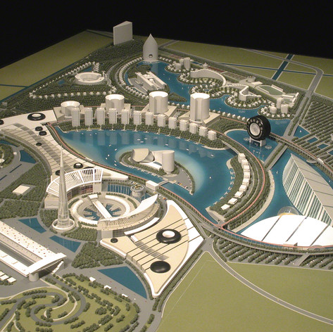 Shanghai International Autodrome Master Plan, 2004