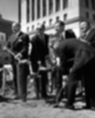 Embarcadero Center; John Portman, Joseph L. Alioto, Trammell Crow, David Rockefeller, Justin Herman