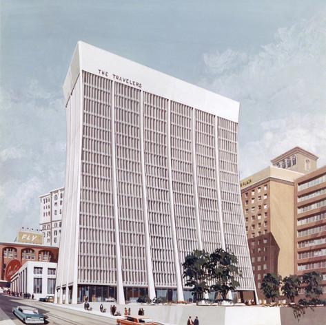 Carnegie Towers, 1962