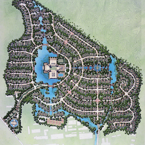 Dream Lake Mountain Villas Master Plan, 1996