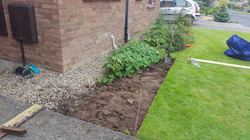 Extending graveled area