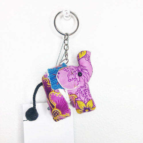 Thai Elephant Keychain