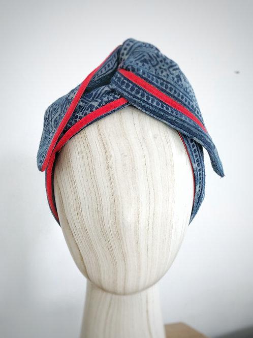Red Line Batik Turban