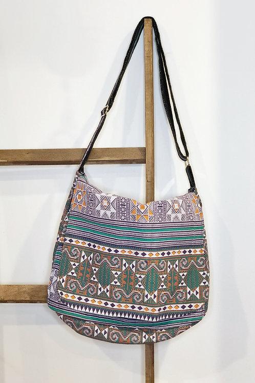 Hmong Inspired Messenger Bag — Medium