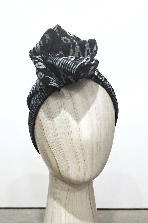 Indigo Batik Turban