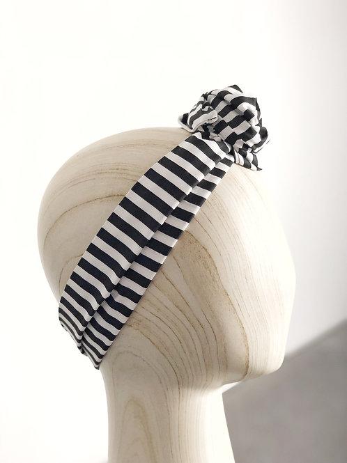 Wide Striped Turban