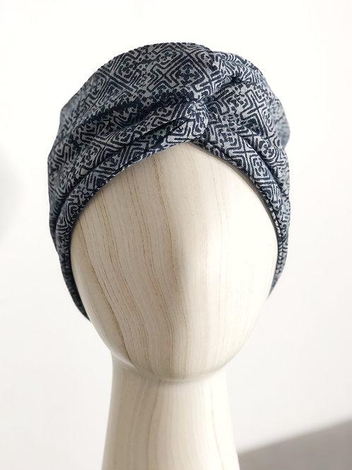 Batik Head Turban — Medium