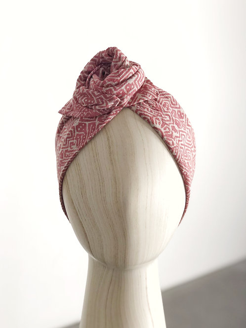 Red Batik Turban