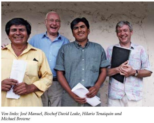 JoseÌ Manuel, Bishop David Leake