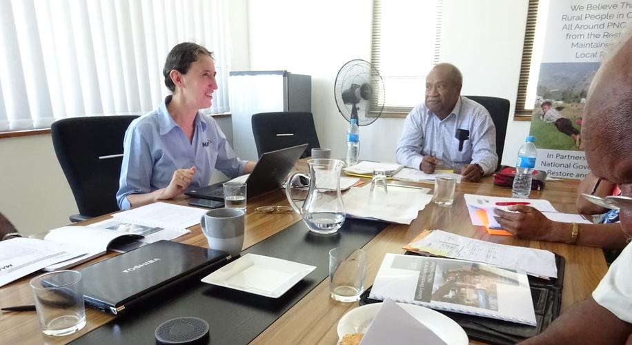 MAF PNG Board meeting