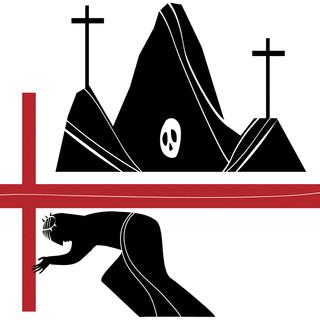 Station 7: Jesus carries his cross