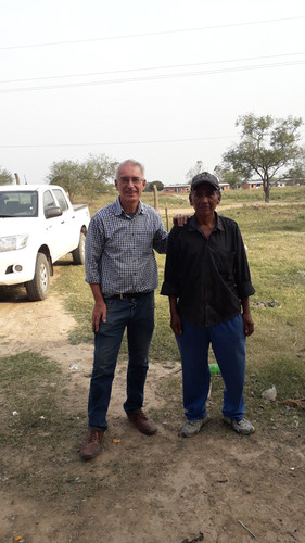 Visiting a Chaco political leader