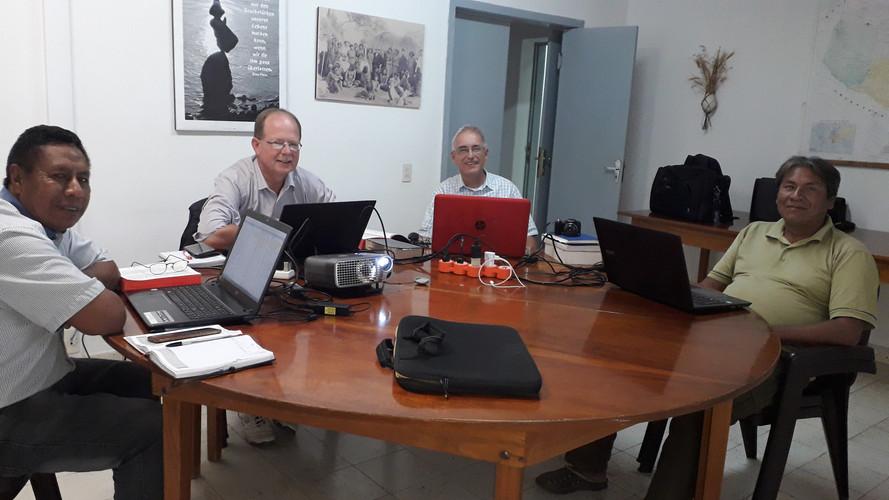 Visiting the northern Enlhet translators