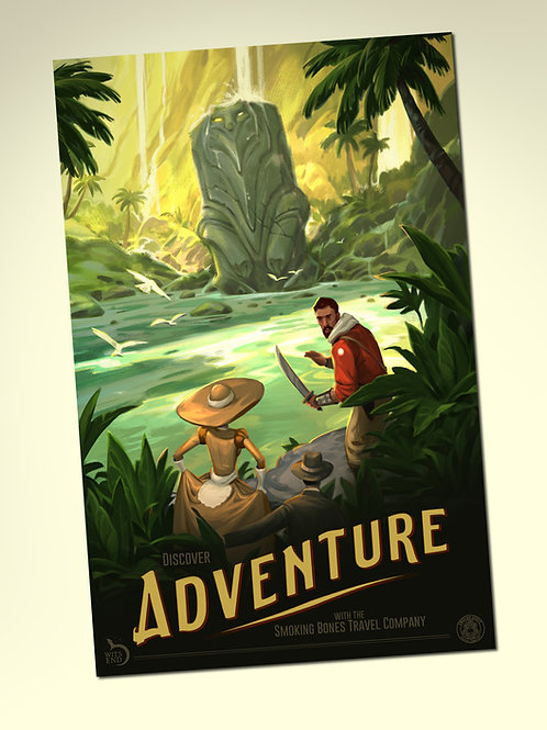 """""""Adventure"""" Poster - Signed"""