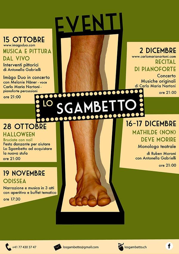 programma eventi novembre-dicembre 2016
