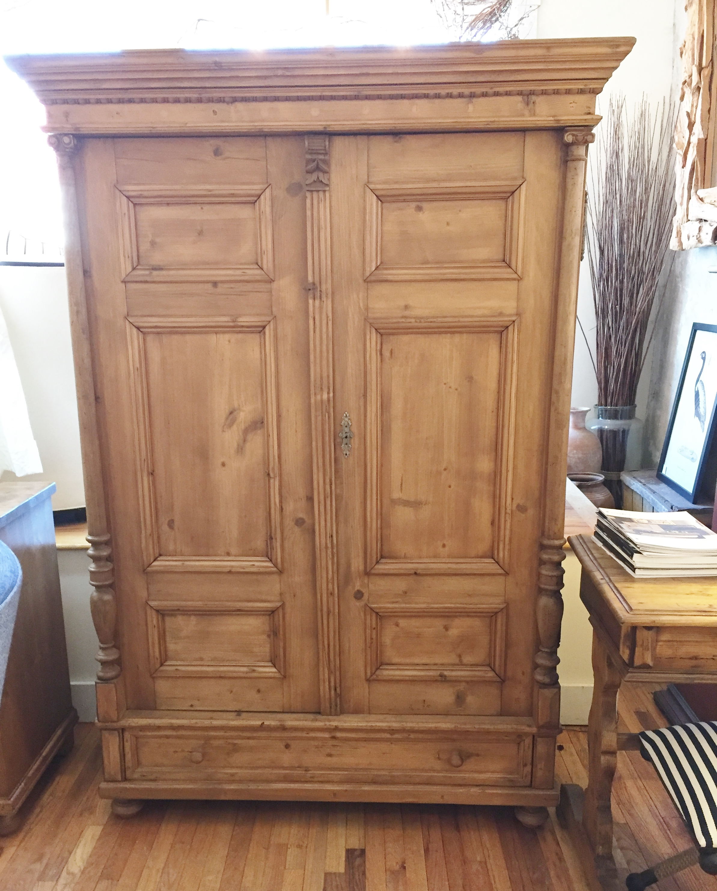 Antique Pine Furniture British Cottage New Jersey