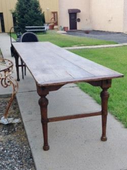 "130"" x 32"" Pine Farmhouse Table"