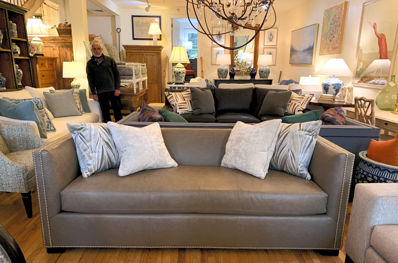 Century Leather Sofa