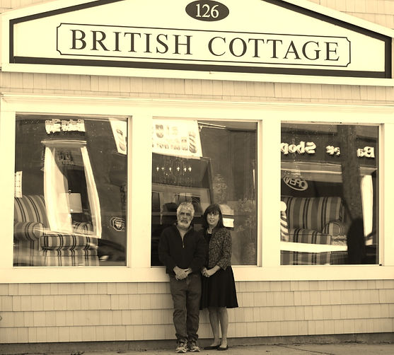 Tricia and Keith Nelson of British Cottage, Red Bank NJ USA