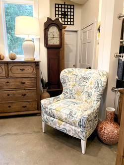Tessa Wing Chair by Century