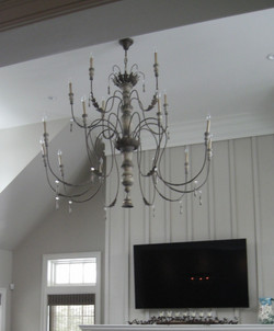 Triple Tiered Chandelier