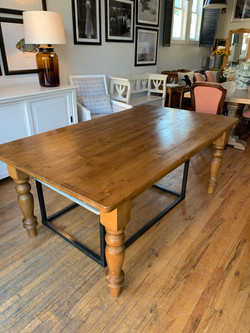 """72"""" Pine Dining Table"""