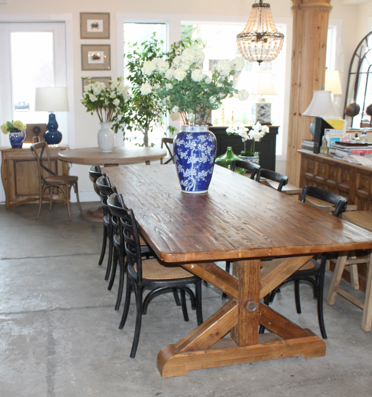 British Cottage Farmhouse Table