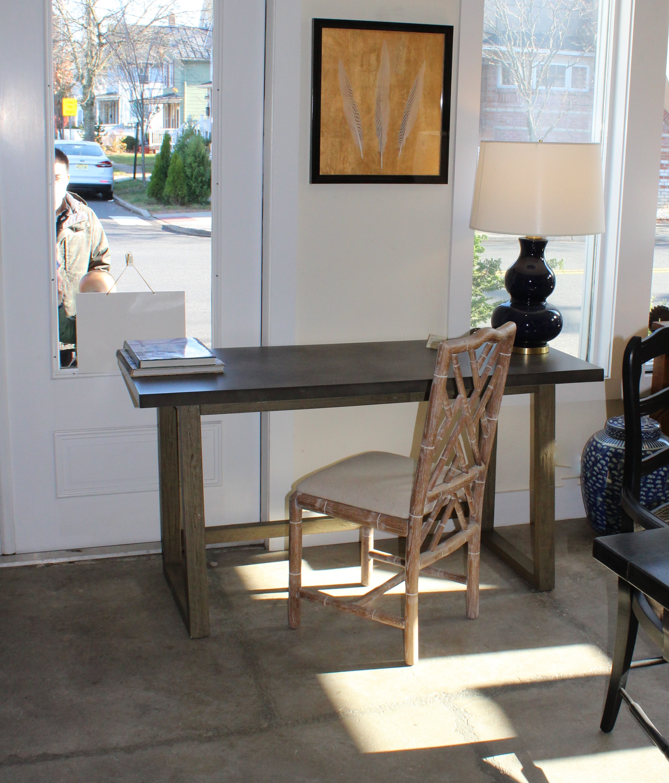 Concrete Topped Desk