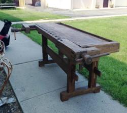 Antique Pine Workbench