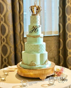 Celadon Royal Wedding Cake