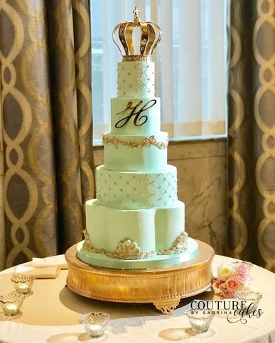 Celadon Royal Wedding Cake