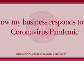 How my business responds to the Coronavirus Pandemic