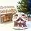 Thumbnail: Dollhouse miniature gingerbread house
