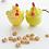 Thumbnail: Dollhouse miniature 1:12 Easter hen cookie jar