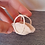 Thumbnail: Dollhouse miniature straw basket 1:12 scale