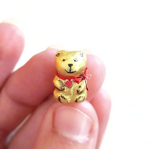 1:12 Dollhouse miniature Lindt Gold Bear