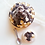 Thumbnail: Miniature food profiteroles french cake scale 1:12