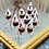 Thumbnail: 1:12 Halloween miniature meringue ghosts