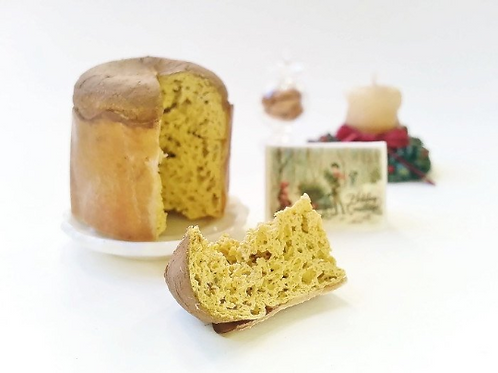 Miniature Christmas Panettone scale 1:12