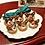 Thumbnail: 1:12 dollhouse miniature Christmas reindeer pastry