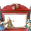 Thumbnail: Miniature dollhouse theater and puppets 1:12 scale toy
