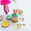 Thumbnail: Dollhouse miniature Easter cookie jar