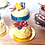 Thumbnail: Gourmet dollhouse miniature mimosa cake scale 1:12