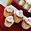 Thumbnail: 1:12 Halloween miniature muffins ghosts