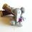 Thumbnail: 1:12 Dollhouse Miniature felted elephant toy