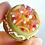 Thumbnail: Miniature Italian food Cassata siciliana scale 1:12