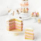 Dollhouse miniature birthday cake.png