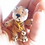 Thumbnail: Miniature dollhouse felted tiger toy